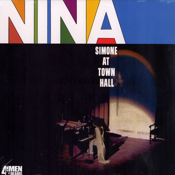 Copertina Disco Vinile 33 giri Simone At Town Hall di Nina Simone
