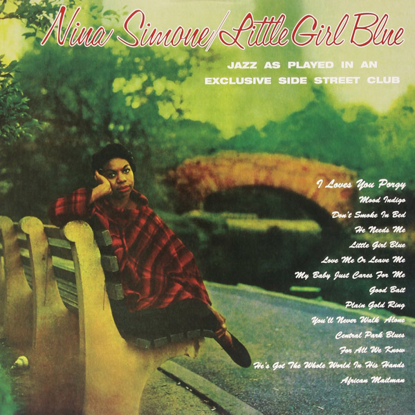 Copertina Disco Vinile 33 giri Little Girl Blue di Nina Simone