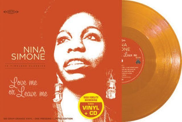 Copertina Vinile 33 giri Love me or Leave me [LP + CD] di Nina Simone