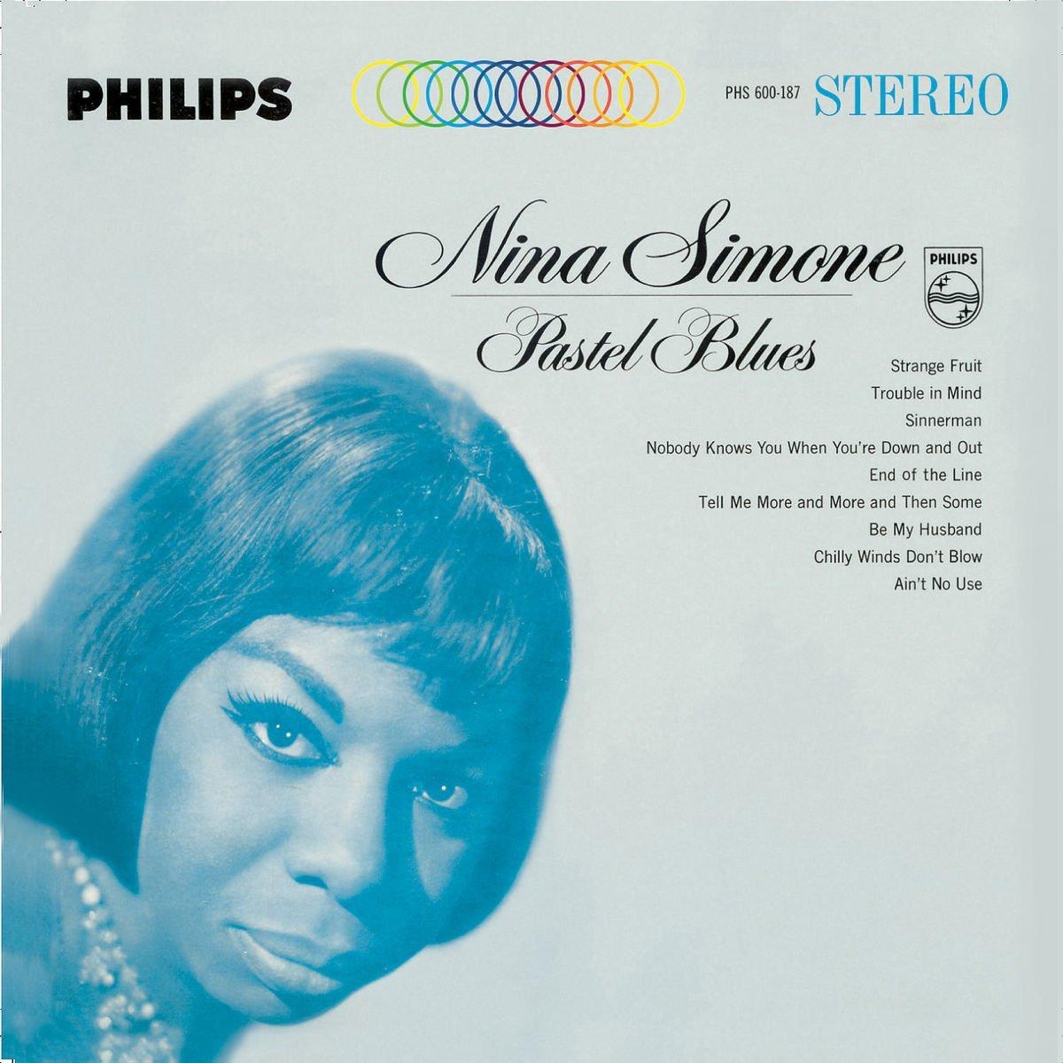 Copertina Disco Vinile 33 giri Pastel Blues  di Nina Simone