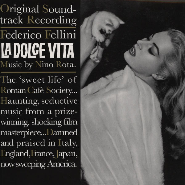 Copertina Vinile 33 giri La Dolce Vita [Soundtrack LP+CD] di Nino Rota