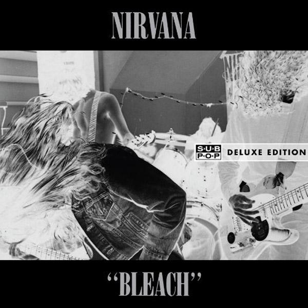Copertina Disco Vinile 33 giri Bleach [2 LP] di Nirvana