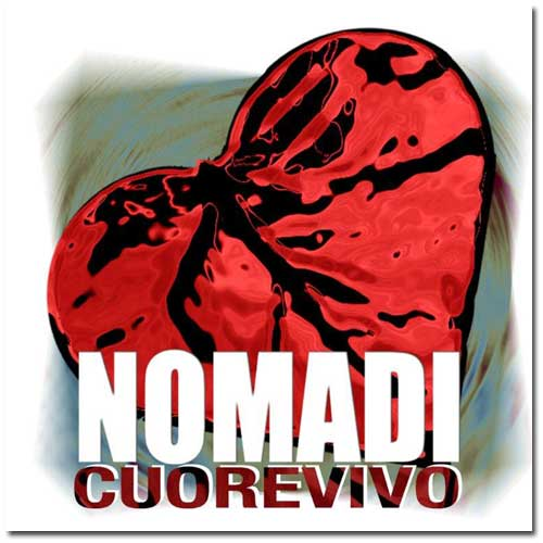 Copertina Disco Vinile 33 giri Cuore vivo di Nomadi