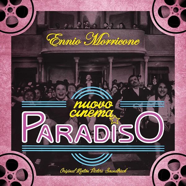 Copertina Disco Vinile 33 giri Nuovo Cinema Paradiso [Soundtrack LP] di Ennio Morricone