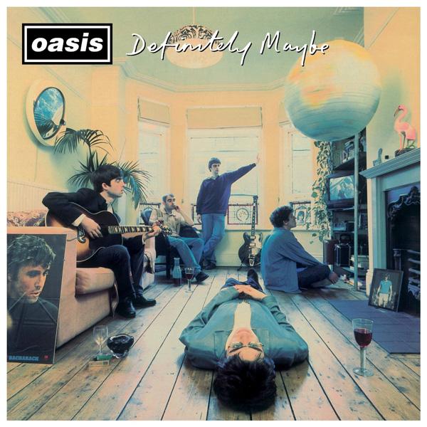 Copertina Disco Vinile 33 giri Definitely Maybe [2 LP] di Oasis