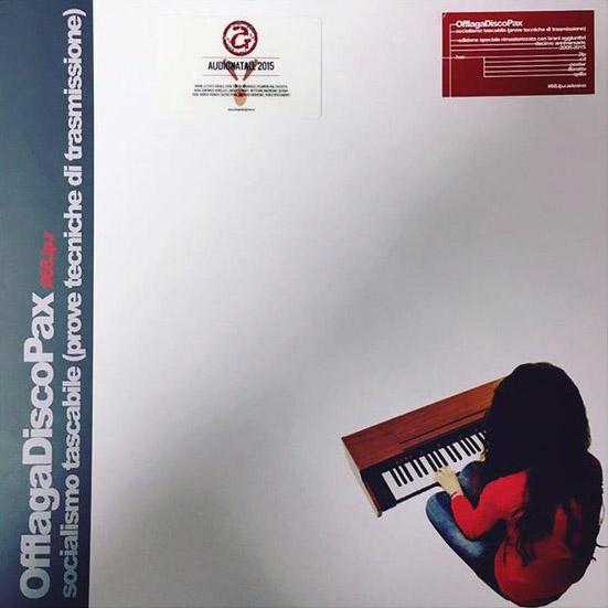 Copertina Disco Vinile 33 giri Socialismo tascabile  di Offlaga Disco Pax
