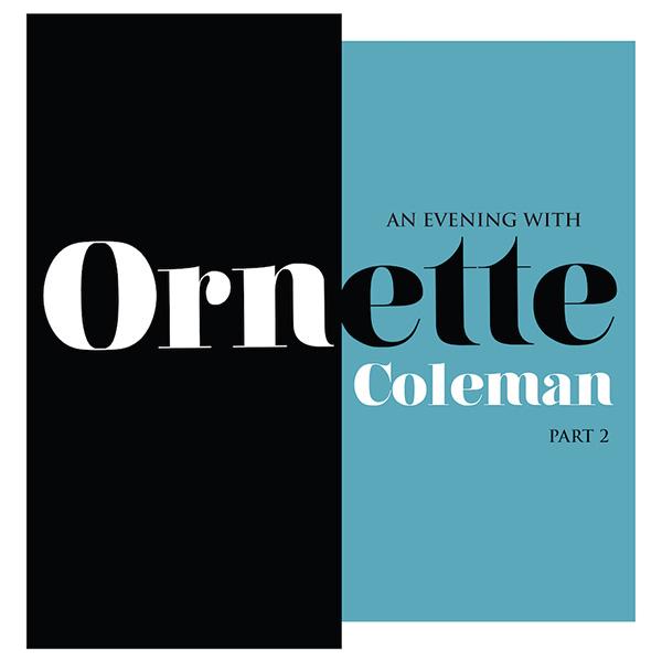 Copertina Vinile 33 giri An Evening With Ornette Coleman, Part 2 di Ornette Coleman