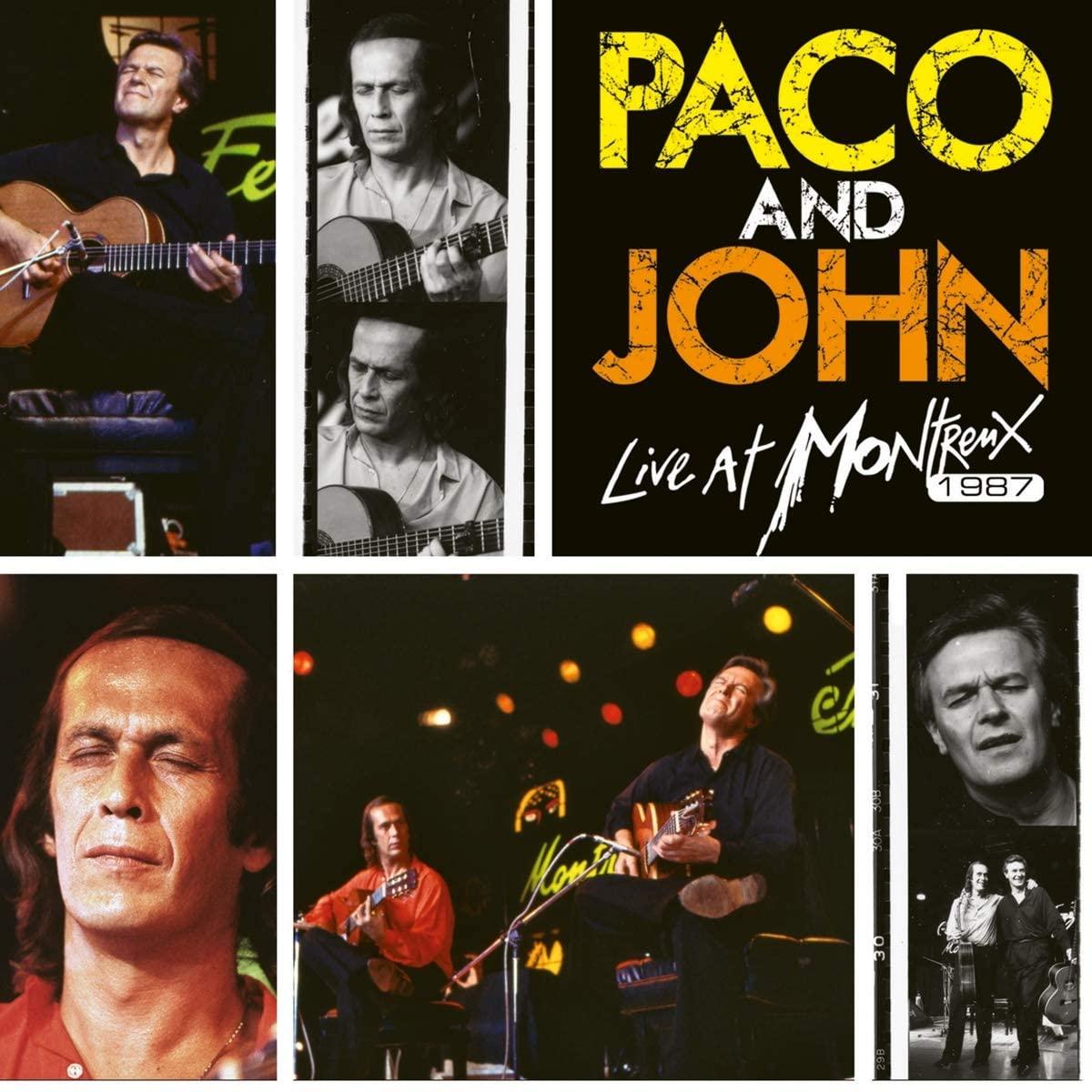 Copertina Vinile 33 giri Paco And John Live at Montreux 1987 [2 LP] di Paco De Lucia
