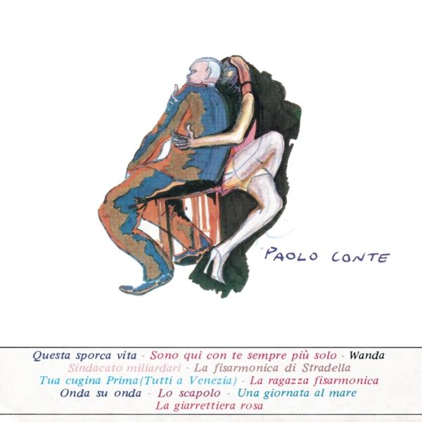 Copertina Disco Vinile 33 giri Paolo Conte di Paolo Conte