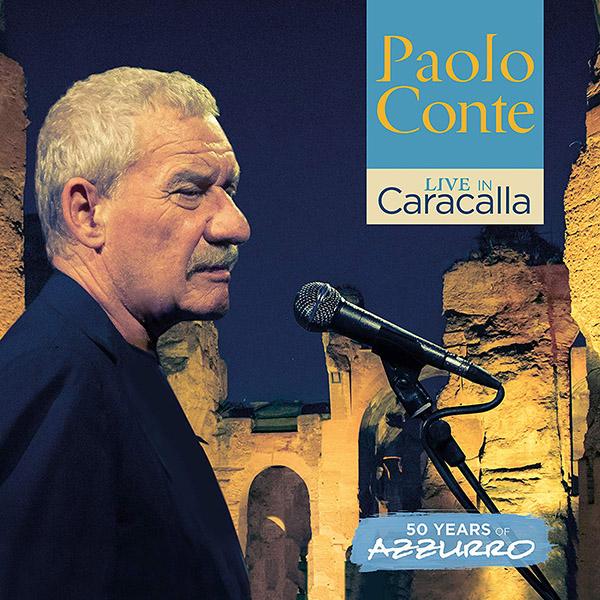 Copertina Vinile 33 giri Live in Caracalla | 50 Years of Azzurro [3 LP] di Paolo Conte