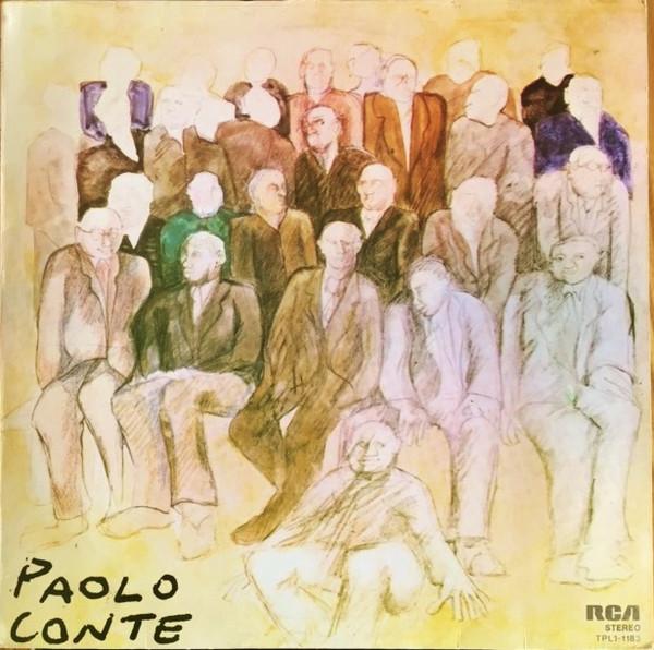 Copertina Vinile 33 giri Paolo Conte di Paolo Conte
