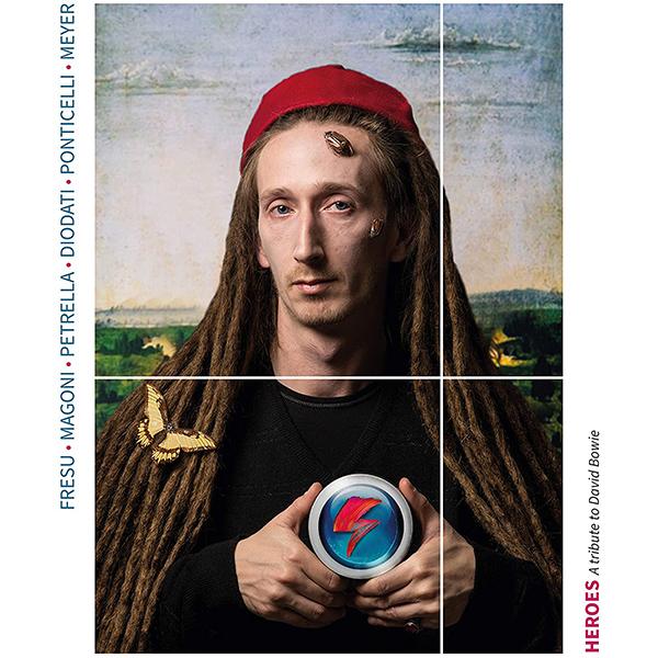 Copertina Vinile 33 giri Heroes - A Tribute to David Bowie [3 LP] di Paolo Fresu