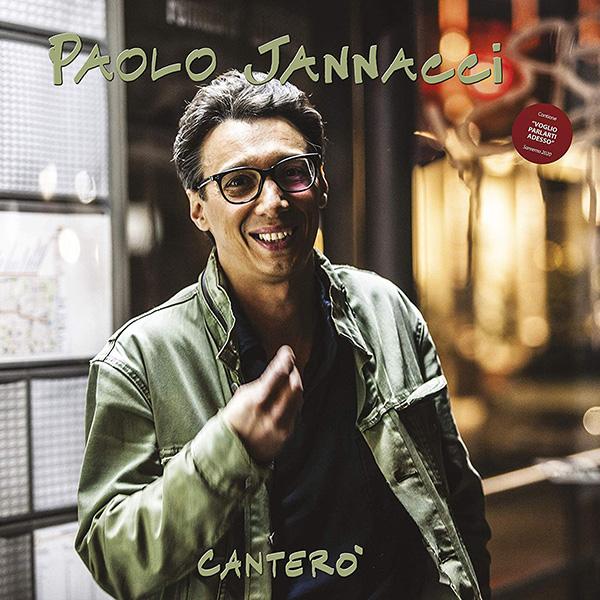 Copertina Vinile 33 giri Canterò di Paolo Jannacci