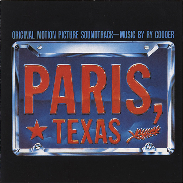 Copertina Disco Vinile 33 giri Paris, Texas [Soundtrack LP] di Ry Cooder
