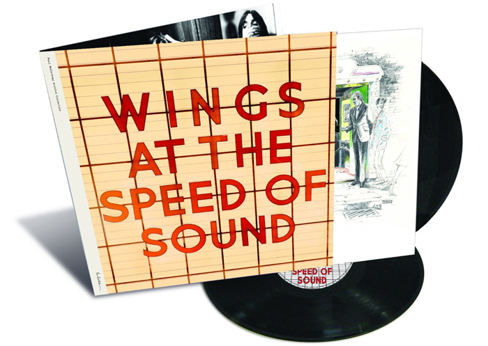 Copertina Disco Vinile 33 giri Wings at the Speed of Sound [2 LP] di Paul McCartney