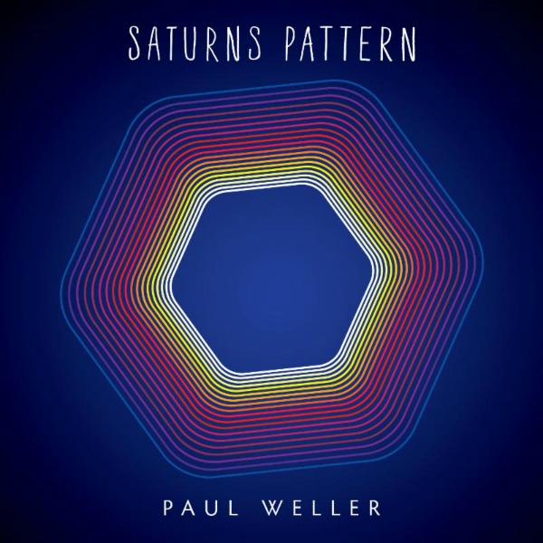 Copertina Disco Vinile 33 giri Saturns Pattern di Paul Weller