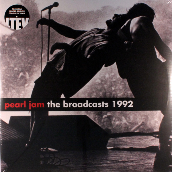 Copertina Disco Vinile 33 giri The Broadcasts 1992 [2 LP] di Pearl Jam