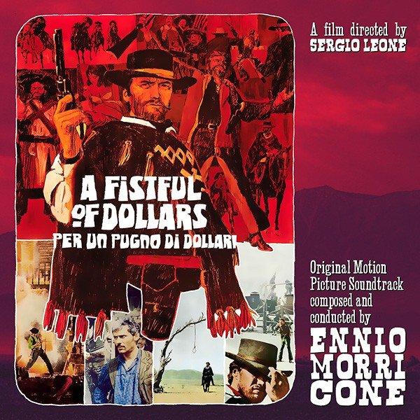 Copertina Disco Vinile 33 giri Per Un Pugno Di Dollari [Soundtrack LP] di Ennio Morricone