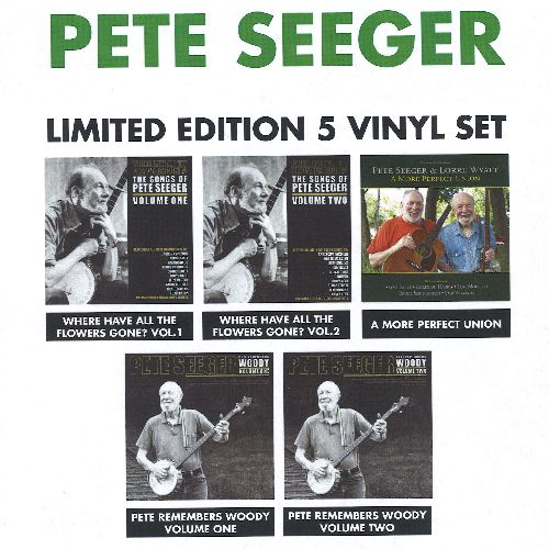 Copertina Disco Vinile 33 giri Limited Edition Vinyl Set [Cofanetto 5xLP] di Pete Seeger