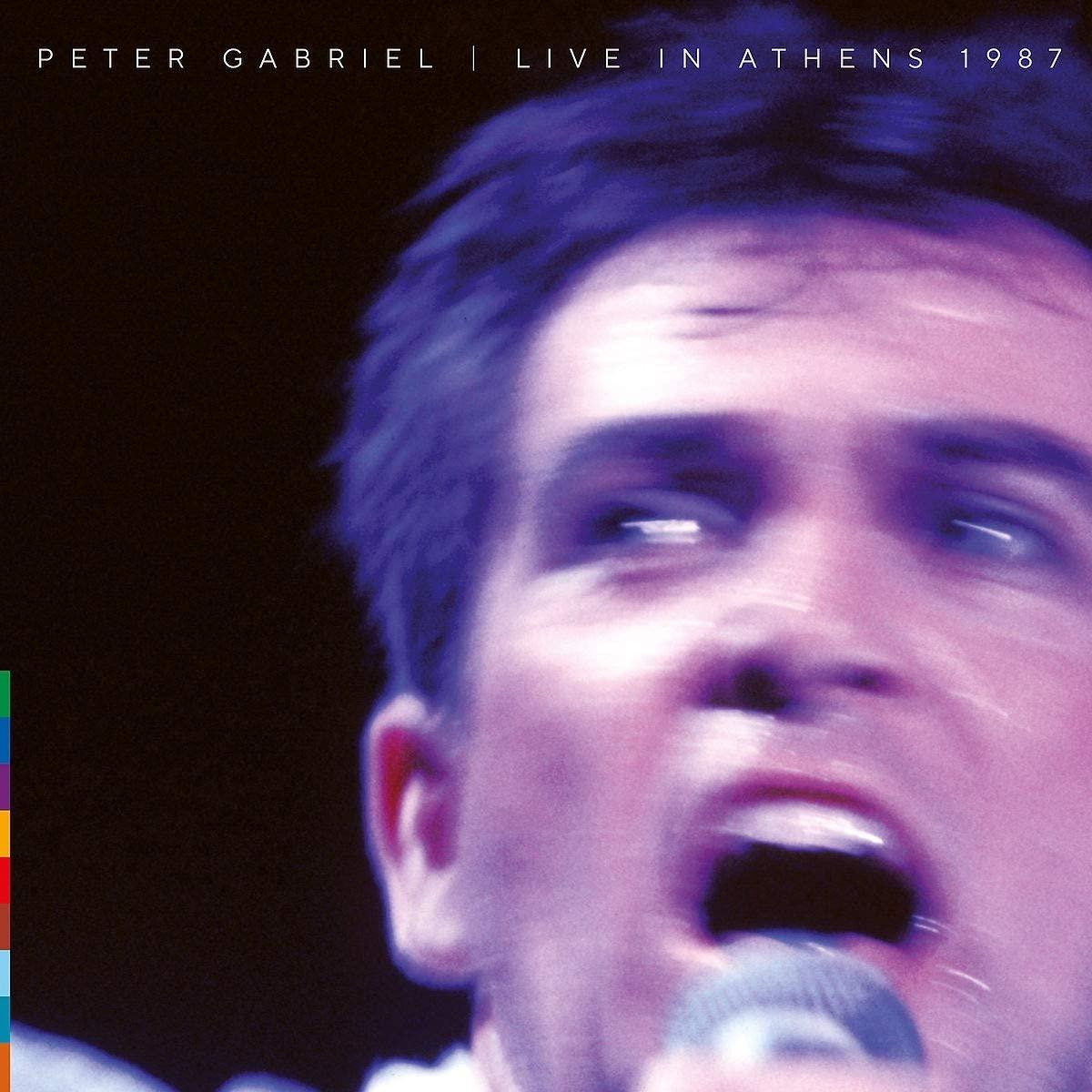 Copertina Vinile 33 giri Live In Athens 1987 di Peter Gabriel
