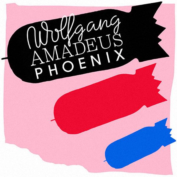 Copertina Disco Vinile 33 giri Wolfgang Amadeus Phoenix di Phoenix