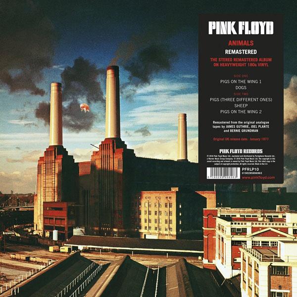 Copertina Disco Vinile 33 giri Animals di Pink Floyd