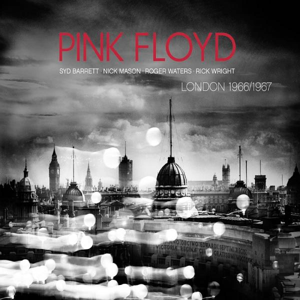 Copertina Disco Vinile 33 giri Live in London '66-'67 di Pink Floyd