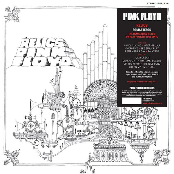 Copertina Vinile 33 giri Relics di Pink Floyd