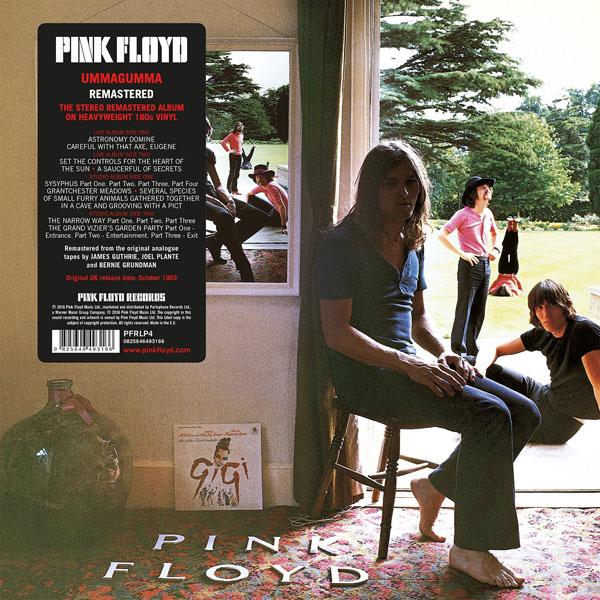 Copertina Disco Vinile 33 giri Ummagumma [2 LP] di Pink Floyd