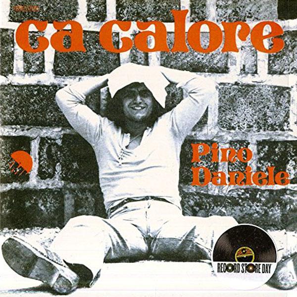 Copertina Disco Vinile 33 giri Ca Calore/Fortunato [Singolo 45 Giri] di Pino Daniele
