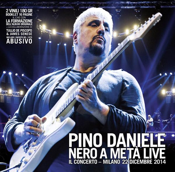 Copertina Disco Vinile 33 giri Nero a Metà Live [2xLP] di Pino Daniele