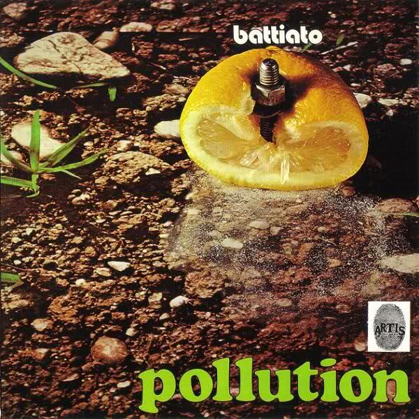 Copertina Vinile 33 giri Pollution di Franco Battiato