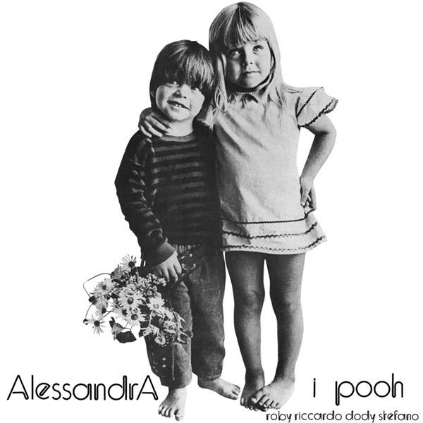 Copertina Disco Vinile 33 giri Alessandra di Pooh