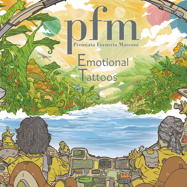 Copertina Vinile 33 giri Emotional Tattoos [2 LP + 2 CD] di Premiata Forneria Marconi