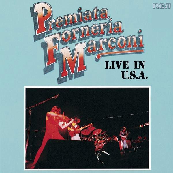 Copertina Disco Vinile 33 giri Live In U.S.A. di Premiata Forneria Marconi