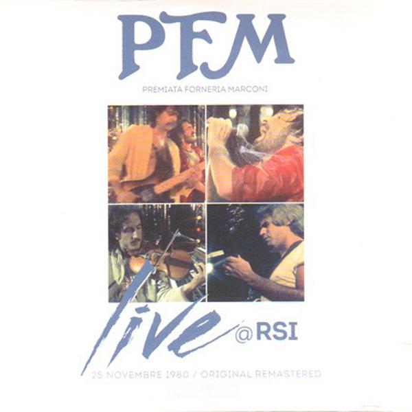 Copertina Disco Vinile 33 giri Live at RSI di Premiata Forneria Marconi