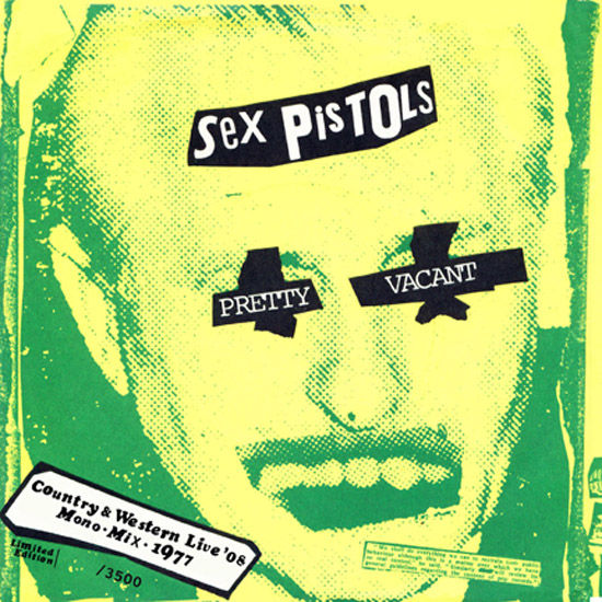 Copertina Disco Vinile 33 giri Pretty Vacant [Singolo 45 Giri] di Sex Pistols