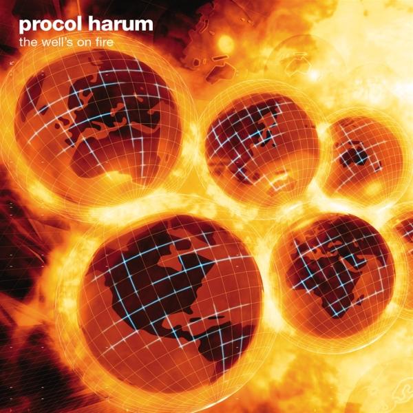 Copertina Disco Vinile 33 giri The Hell's on Fire di Procol Harum