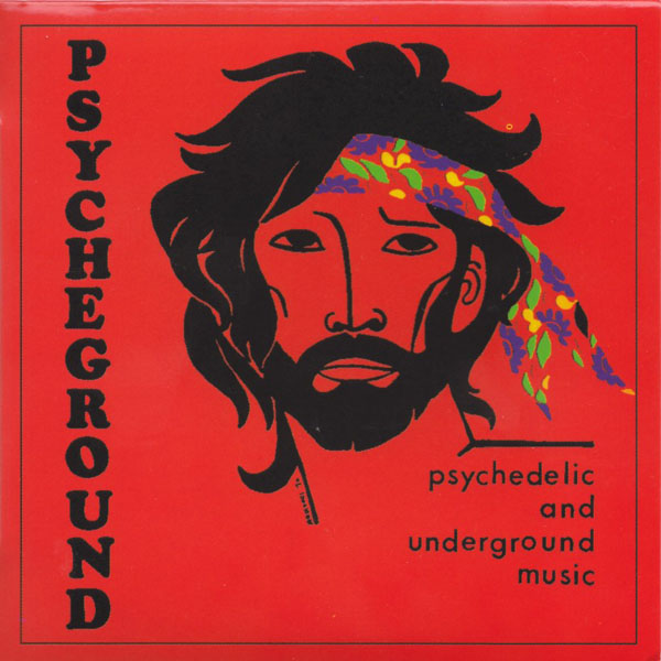 Copertina Disco Vinile 33 giri Psychedelic and Underground Music di Psycheground