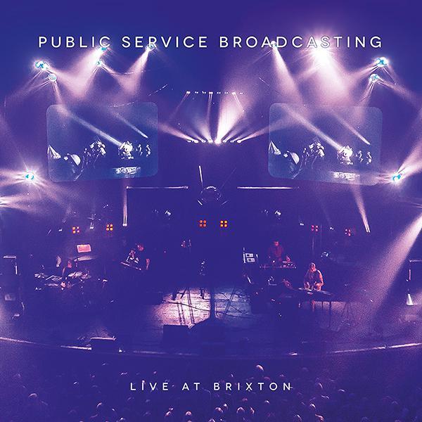 Copertina Disco Vinile 33 giri Live at Brixton [2LP + DVD] di Public Service Broadcasting