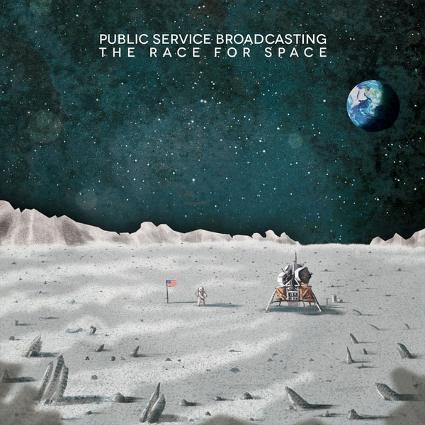 Copertina Disco Vinile 33 giri The Race for Space di Public Service Broadcasting