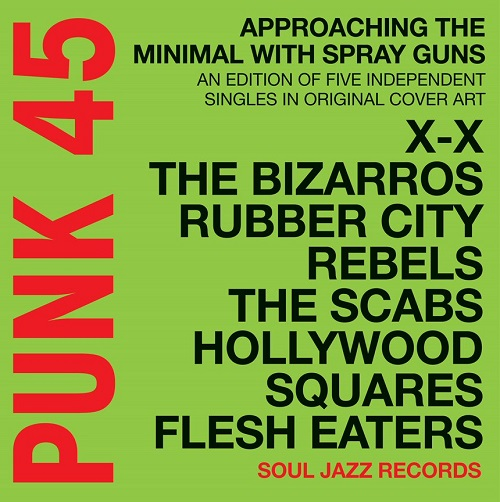 Copertina Vinile 33 giri Punk 45 | Soul Jazz Records  di Vari Artisti