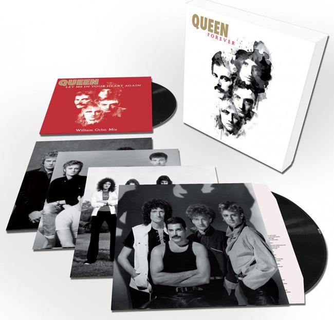 Copertina Disco Vinile 33 giri Queen Forever [Cofanetto 5xLP] di Queen