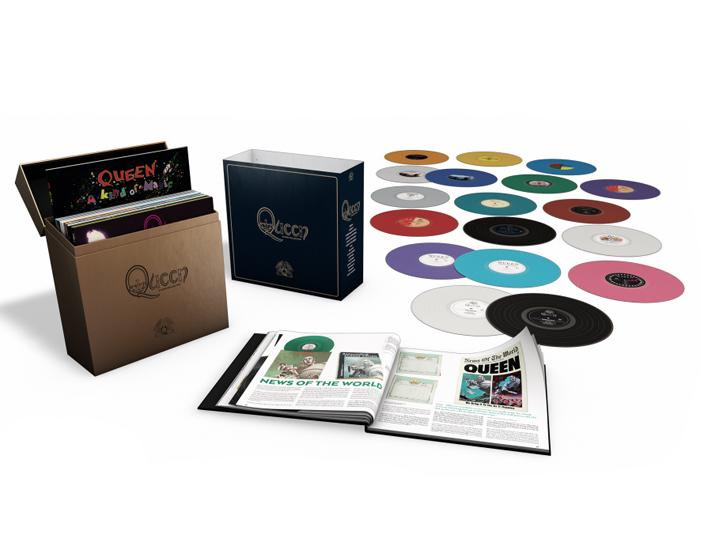 Copertina Disco Vinile 33 giri Queen Studio Collection [Cofanetto 18xLP] di Queen