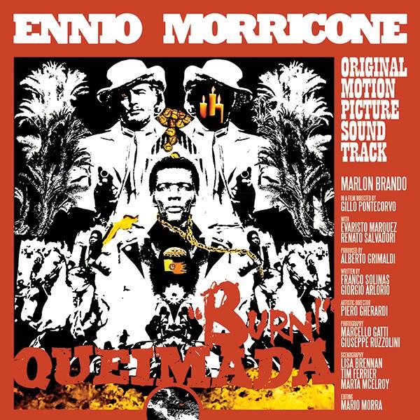 Copertina Disco Vinile 33 giri Queimada [Soundtrack LP] di Ennio Morricone