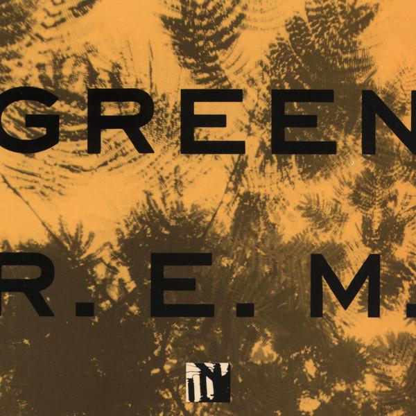 Copertina Disco Vinile 33 giri Green di REM