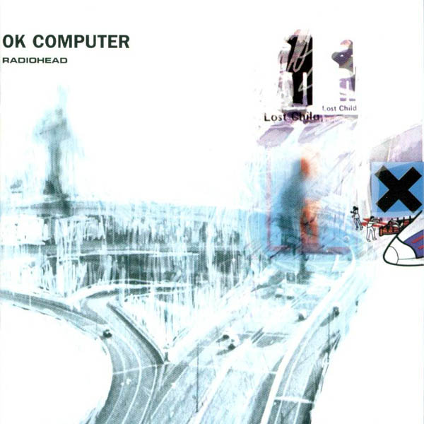 Copertina Disco Vinile 33 giri Ok Computer [2 LP] di Radiohead