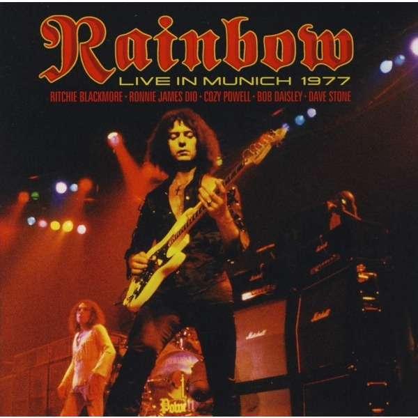 Copertina Disco Vinile 33 giri Live in Munich 1977 [2 LP] di Rainbow