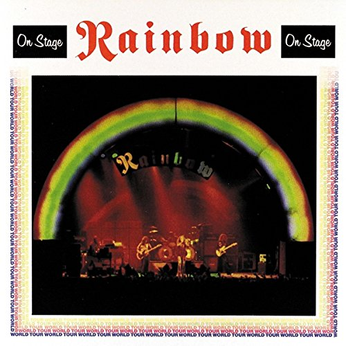Copertina Disco Vinile 33 giri On Stage [2 LP] di Rainbow