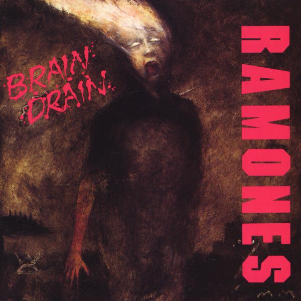 Copertina Disco Vinile 33 giri Brain Drain di Ramones